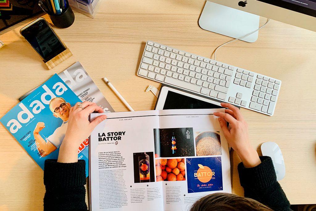 Magazine communication luxembourg Adada